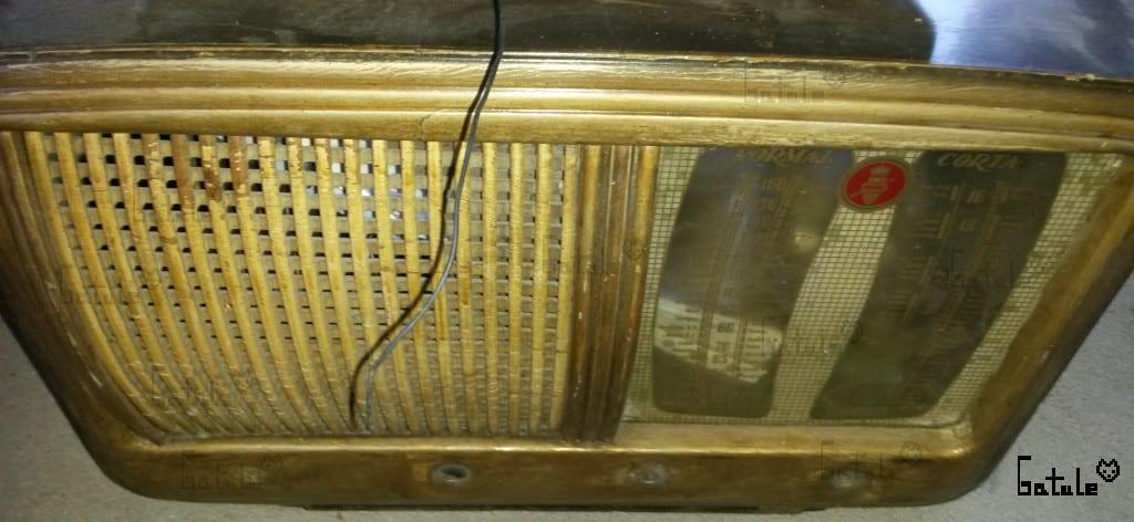 antigua radio válvulas