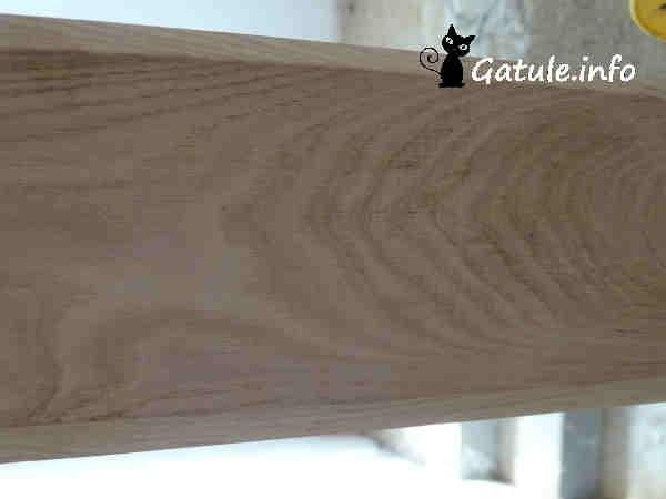 madera de castaño reciclada